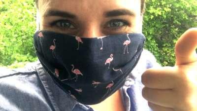 Masque protection zéro déchet